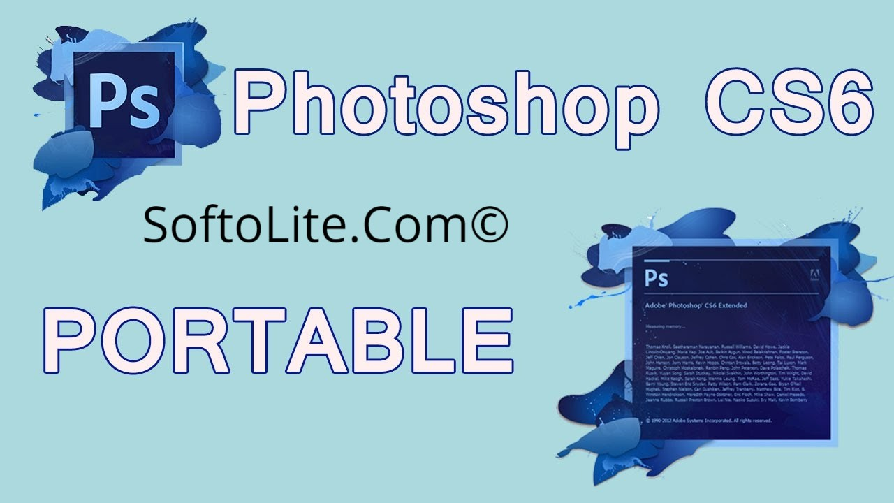 Adobe Photoshop Cs6 Portable Free Download 32 64 Bit Softolite Extended
